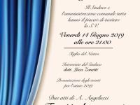 """Riapre il teatro """"Luigi cianni"""" di Castelnuovo di farfa"""