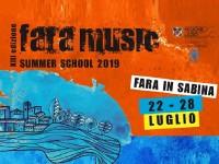 Tutto pronto per l'edizione 2019 del Fara Music Festival