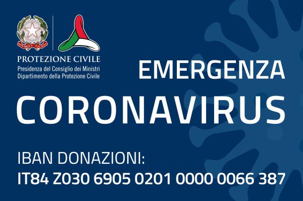 Donazione Sezione Coronavirus