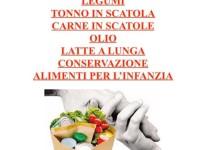 Capena: raccolta generi alimentari per aiutare chi si trova in difficoltà