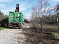 Strada Farense, la Provincia bonifica la discarica abusiva
