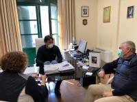 Il sindaco di Fiano Romano con il direttore generale della ASL RM-4