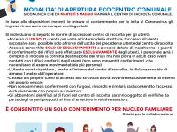 Fiano Romano. Riapertura ecocentro comunale il 5 maggio 2020