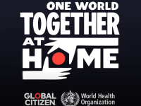 One World: Together At Home. April 18