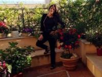 Sabrina Ferilli, la casa chic nel cuore di Roma