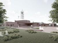 """Fiano Romano. """"Cristo Nostra Pasqua"""", il nuovo complesso parrocchiale"""