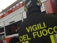Fiano Romano, rogo in un autodemolitore: distrutte 40 carcasse di auto
