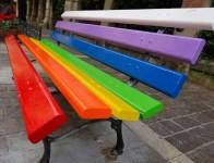 panchina-arcobaleno