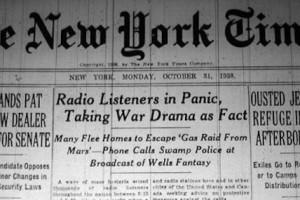 La Guerra dei mondi, così Orson Welles spaventò gli Usa il 30 ottobre 1938