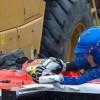 Bianchi, la curva e poi lo schianto: le immagini choc dell'incidente