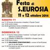 Festa di Sant'Eurosia. 11 e 12 ottobre 2014