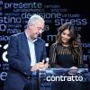 Veltroni battezza il talk di Sabrina Ferilli su Agon Channel, Vespa lieto di essere copiato