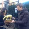 Striscia La Notizia e il tapiro d'oro a Sabrina Ferilli