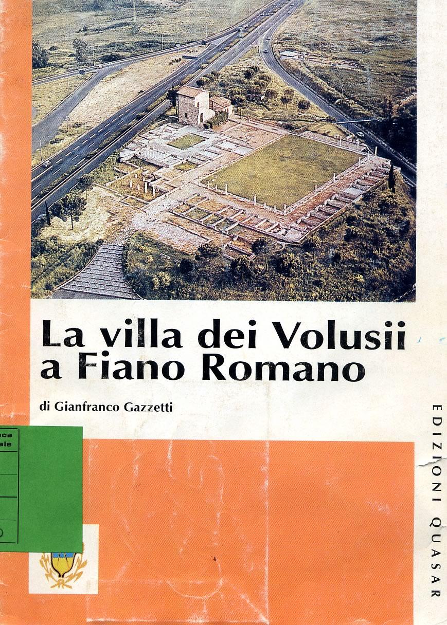 Pubblicazioni Matrimonio Fiano Romano : Volusii